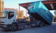 Eliminación de residuos. Transporte de residuos a vertederos